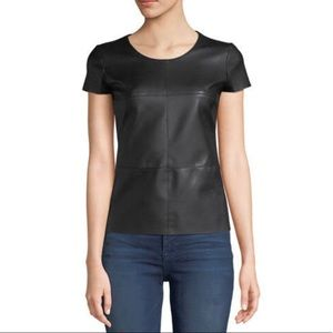 Bailey 44 Vegan Leather Front Top